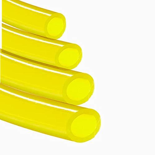 Kraftstoffleitungsschlauch, für Poulan Craftman Kettensäge, Rasentrimmer, gewöhnliche 2-Takt-Motoren, Rasenmäher und Outdoor-Elektrowerkzeuge (1 m x 4 Größe)