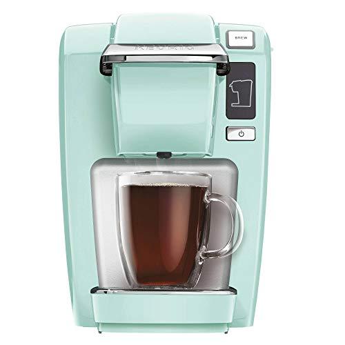 Keurig K15 Coffee Maker, Single Serve K-Cup Pod Coffee Brewer, 6 to 10 oz. Brew Sizes, Oasis (Renewed)
