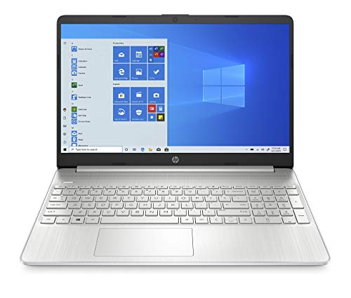 "HP – PC 15s-fq0002sl Notebook, Intel Celeron N4020, RAM 4 GB, SSD 128 GB, Grafica Intel UHD 600, Windows 10 Home S, Schermo 15.6"" HD Antiriflesso, Webcam, USB-C, USB, HDMI, Argento"