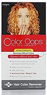 Color Oops Remover Color Hair Extra Strength 1 Application (مجموعه ای از 2)