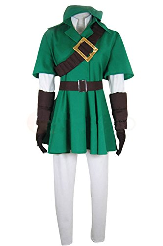 The Legend of Zelda Link Cosplay Kostüm S