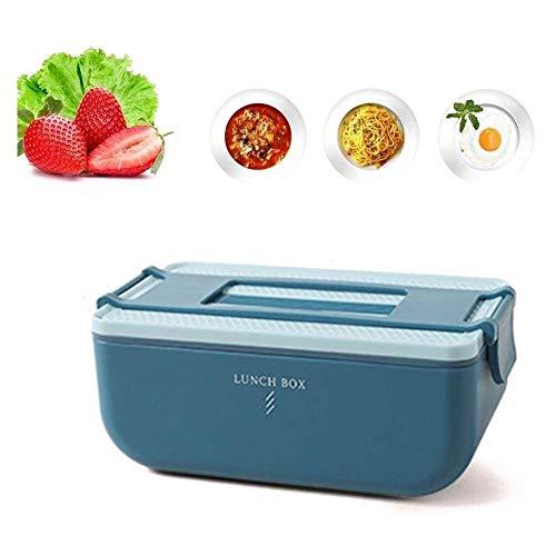 Lunch Box Bento Box Déjeuner Garçons boîte avec amovible en acier inoxydable Contenant à for voiture Container nourriture avec compartimentées et Couv