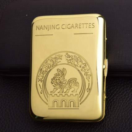 XIAOXIA Cámara De Cigarrillo De Camello Personalizado Marlboro Yuxi Caja De Cigarrillo De Cobre Puro 16