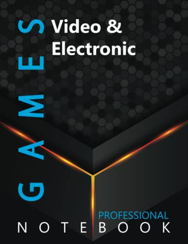 """Compare Textbook Prices for Games, Video & Electronic Ruled Notebook, Professional Notebook, Writing Journal, Daily Notes, Large 8.5"""" x 11"""" size, 108 pages, Glossy cover  ISBN 9798499553978 by Pro Gamer  Cre8tive Press"""