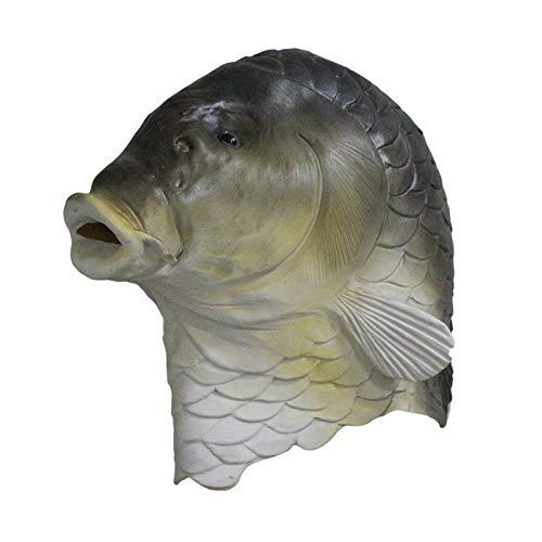 Hengyutoy Mask Halloween Tierkopf Maske Kreatur Aus Der Schwarzen Lagune Fisch Maske Erwachsene