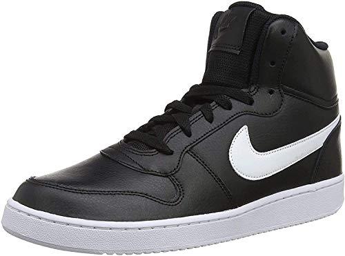 Nike Herren Ebernon Mid Sneakers, Schwarz Black White 002, 41 EU