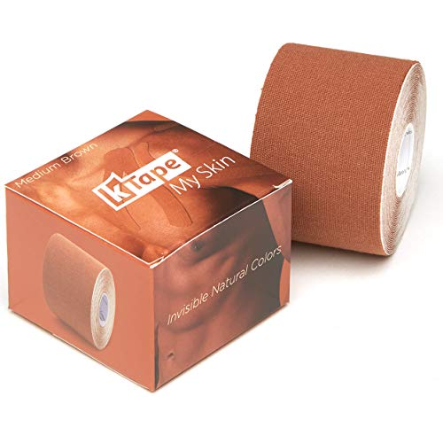 K-Tape My Skin Medium Brown (Einzelrolle, 5cm x 5m)