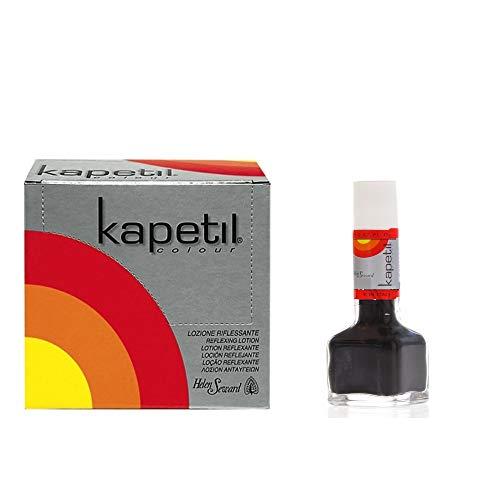 Kapetil Lotion colorante pour cheveux gris perle 1 ampoule de 17 ml