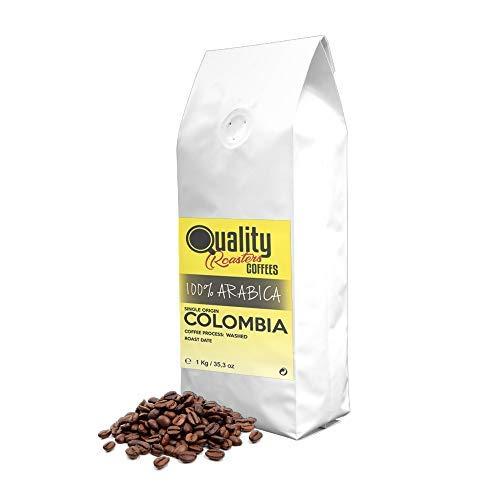 ☕ Natürliche kaffeebohnen. 100% Arabica. Einzigartiger ursprung Kolumbien, 1kg. Geröstete Handwerk.