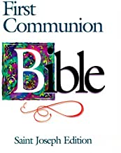 Saint Joseph First Communion Bible-NABRE (St. Joseph)