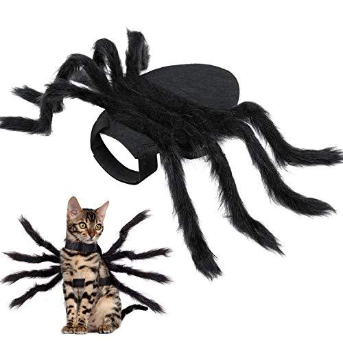 HalloweenSpiderCostumeforDogCat,HalloweenPetCostumeHalloweenDecorations,Spider�...