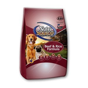 NutriSource Dry Dog Food Beef and Rice