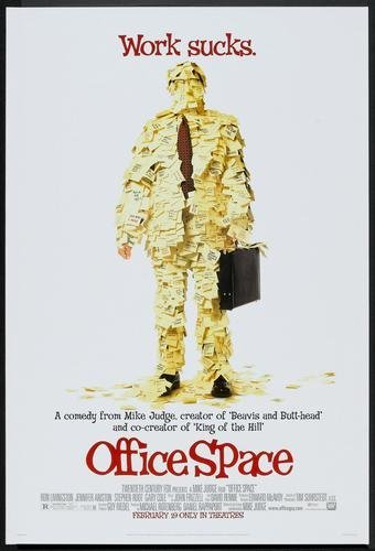Office Space Movie Poster 24x36