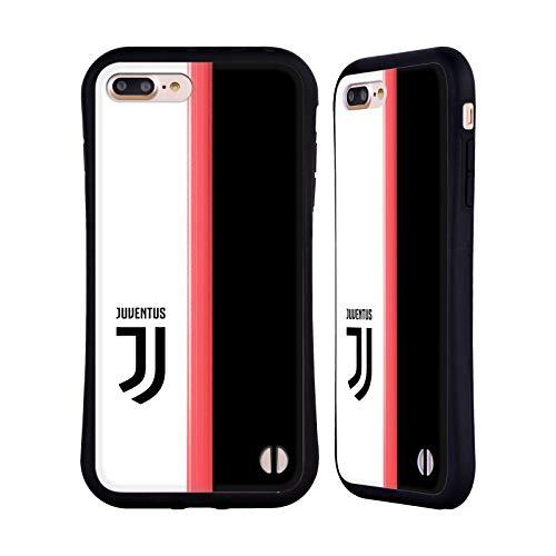 Head Case Designs Ufficiale Juventus Football Club in Casa 2019/20 Race Kit Cover Ibrida Compatibile con iPhone 7 Plus/iPhone 8 Plus