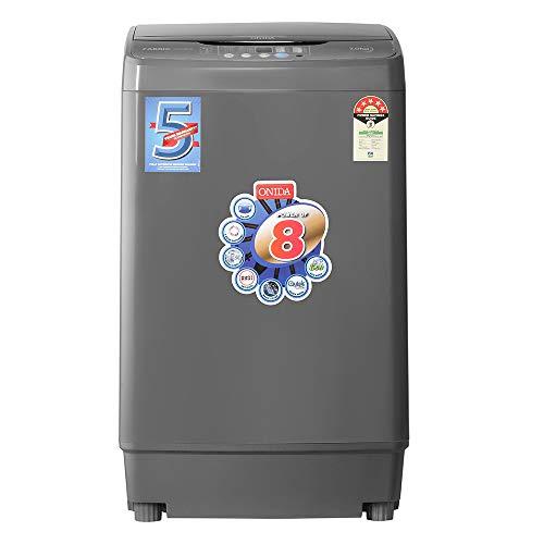 Onida 7 Kg 5 Star Fully-Automatic Top Loading Washing Machine (T70FGD, Grey)