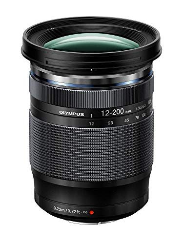 Olympus M.Zuiko Digital ED 12-200mm F3.5-6.3 Lens, for Micro Four Thirds Cameras Maryland