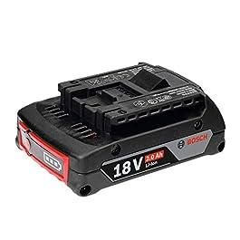 Bosch Professional 1600Z00036 Chargeur GBA 18 V 2,0 Ah M-B Bleu 2.0 Ah 1