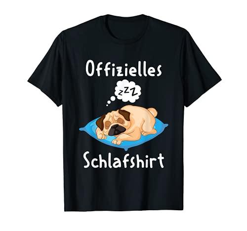 Camisón de pijama para perro de carlino Camiseta