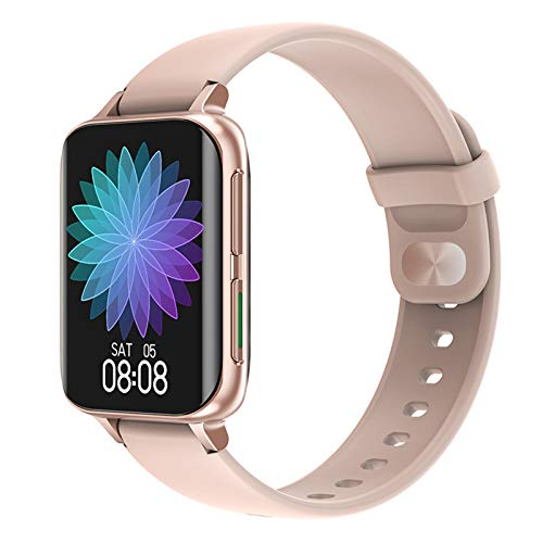 YWS DT93 Smartwatch 2021 Función MP3 Llamada Bluetooth 1.78 Pulgadas 320 * 385 Reloj Inteligente ECG para Hombres Y Mujeres Ejercicio De Fitness para Android iOS,D