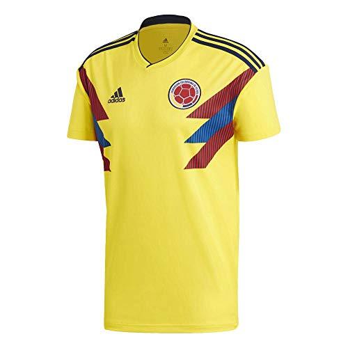 adidas Colombia Camiseta de Equipación, Hombre, Amarillo (amabri/Maruni), XS