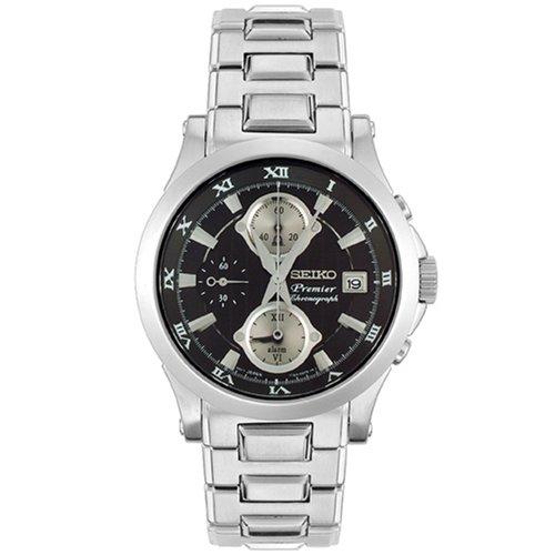 Seiko Herren-Armbanduhr Alarm Chronograph SNA585P1