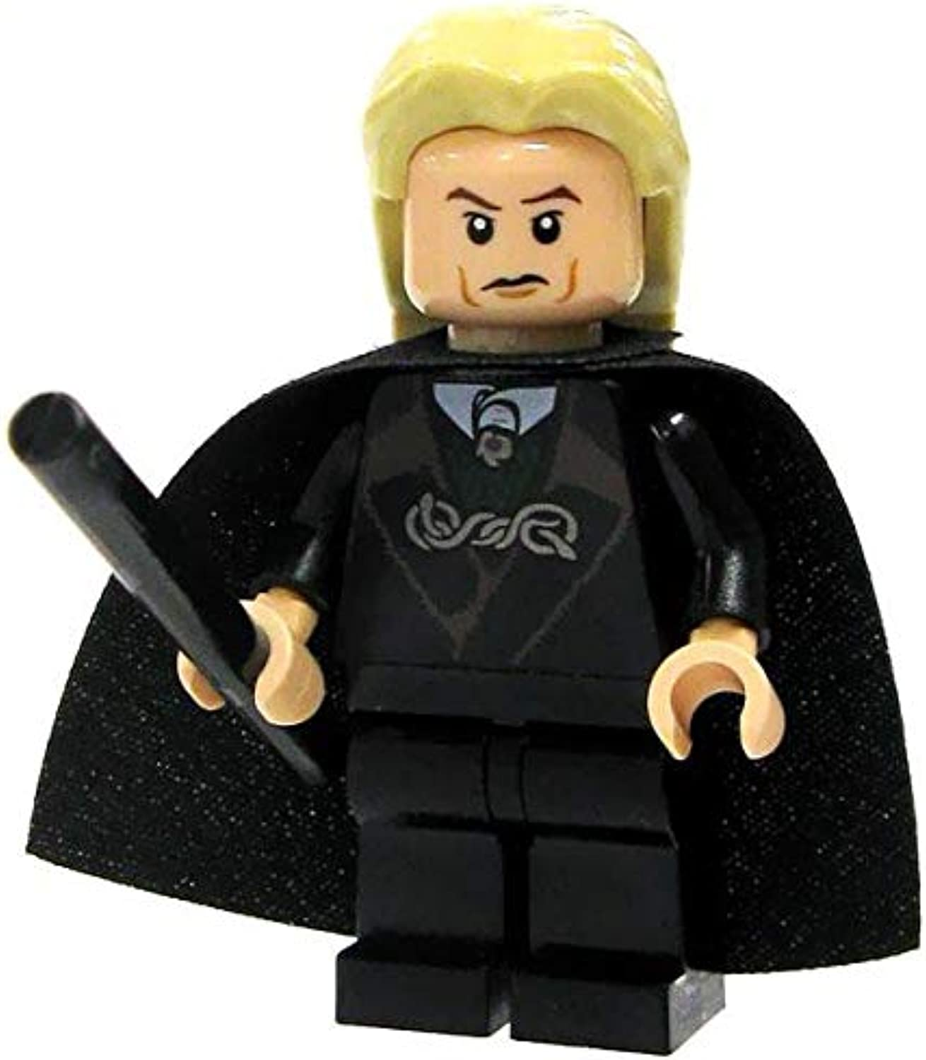 Lego Harry Potter Lucius Malfoy Minifigure with Black Wand by LEGO