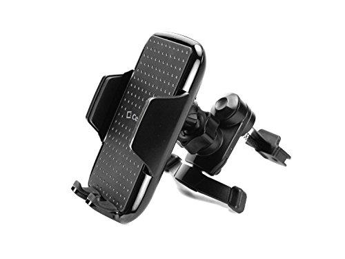 Cellet Car Phone Mount Holder Universal Phone Car Air Vent Mount Holder Cradle Compatible for iPhone 12 Pro Max Mini 11 X XR XS 8 Samsung Note 20 10 9 Galaxy S21 S20 S10 Moto LG Google Pixel, Black (PHVENTCN)