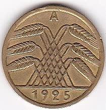 1925-A Germany 5 Reichspfennig Deutsches Reich