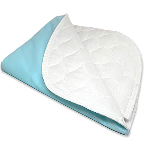 RMS Ultra Soft 4-Layer Washable and Reusable Incontinence Bed Pad - Waterproof Bed Pads, 34'X36'