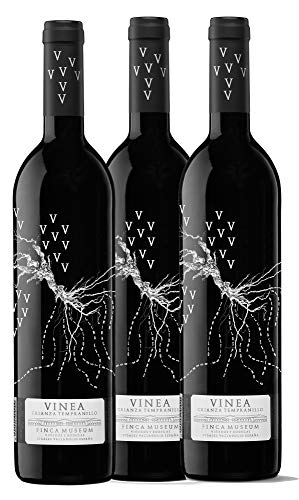 Finca Museum Vinea Crianza Tinto Cigales - Pack 3 botellas 75 cl