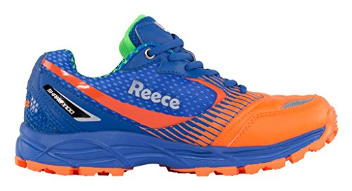 Reece Hockey Shark Hockey Schuh - BLUE-ORANGE, Größe #:10.5