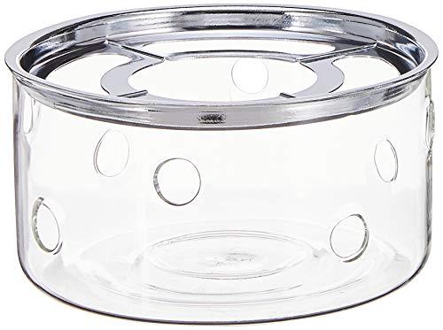 Bodum Stövchen, Glas, Argent, Transparent