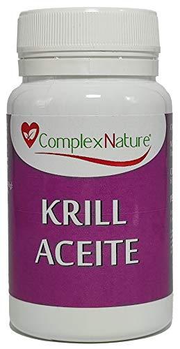 Aceite de Krill puro, ComplexNature, 60 Perlas, Omega 3.