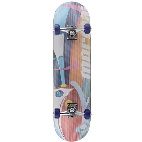 ACAMPTAR Retro Style Maple Professionelle Skateboard-Primitive Welt