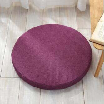 High density sponge pad, Round cushion Chair cushions Seat cushioning Wicker chair padding Yoga mat Thickening cushioning of fabric-G diameter 40cm (16inch)