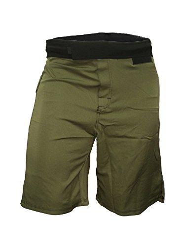 Epic MMA Gear WOD Shorts Agility 1.0 (Army Green, 32)