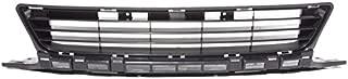 CarPartsDepot 09-11 Honda Civic 2DR Front Bumper Center Grille HO1036107 Alum For 71107SVAA50