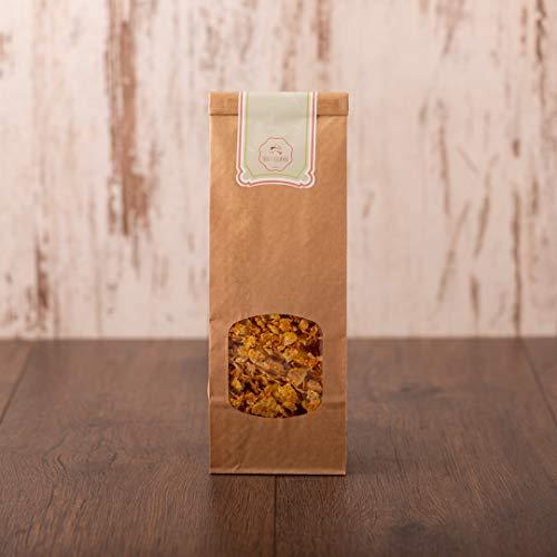 süssundclever.de® Bio Cornflakes | Vollkorn | ungesüßt | 1 kg (2 x 500 g) | plastikfrei und ökologisch-nachhaltig abgepackt