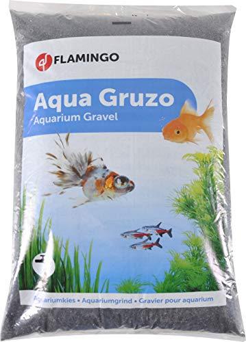 Flamingo - 400723 - Aquarium Kies - Schwarz, 8L - 9 kg