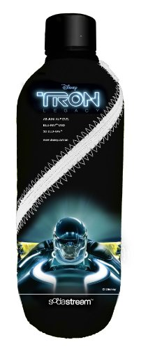 SodaStream 1041127490 Petfles met Tron Cooler, 1 L, zwart