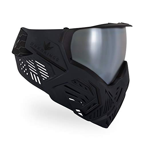 Bunkerkings CMD Paintball Brille/Masken, schwarz-Carbon, CMD