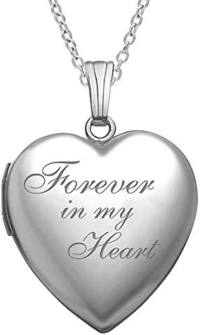 """""""Forever in My Heart"""" Locket Necklace..."""