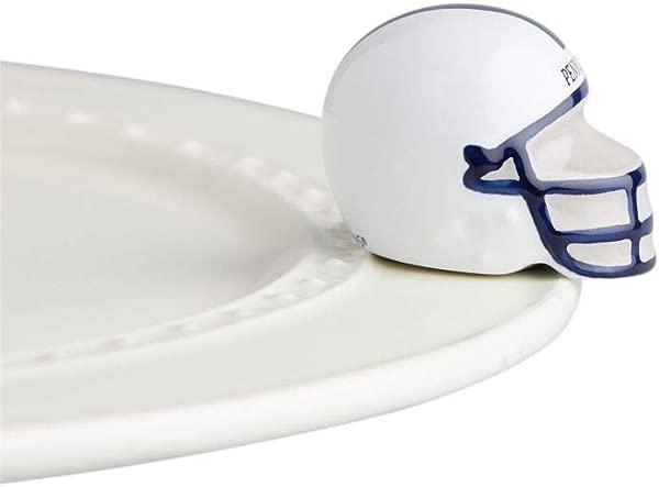 Nora Fleming Hand Painted Mini Penn State Helmet Penn State University Football Helmet A316