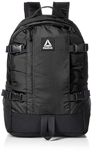 [リーボック] リュック メンズ レディース 大容量 リュックサック デイパック 25l a4 通学 通勤 旅行 ブランド 軽量 ロゴ 黒 ブラック ARB1053 F