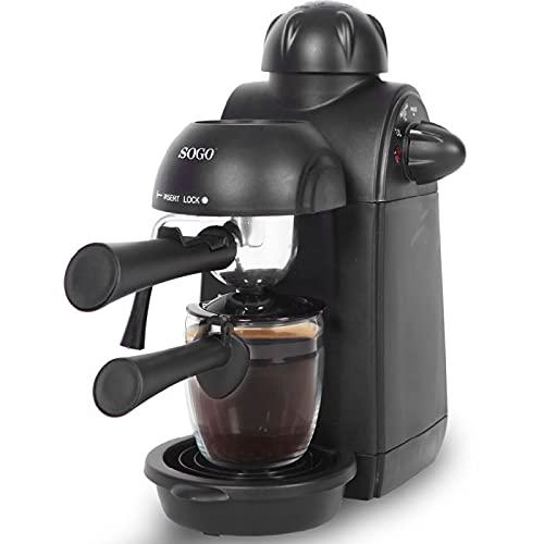 Sogo Semi Espresso Cafetera, 870 W, 0.24 litros, Plástico,...