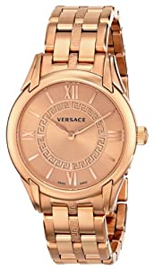 Versace Women's VFF040013 'Dafne' Rose Gold Ion-Plated Stainless Steel Dress Watch image