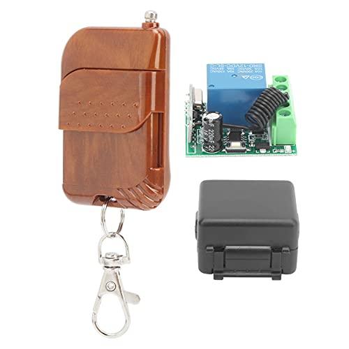 Récepteur de commutateur sans fil, kit d'émetteur de télécommande Sécurisé sans bruit Antivibration pour automobiles pour machines-outils