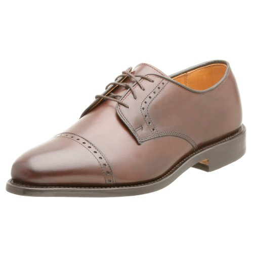 Allen Edmonds Men's Clifton Cap Toe Oxford,Brown,9 EEE