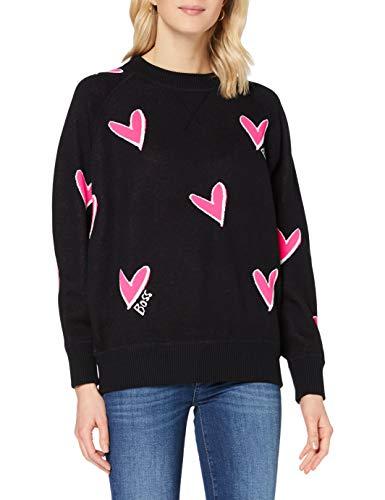 BOSS Damen C_Furva 10231431 01 Sweatshirt, Open Miscellaneous960, S