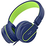 PeohZarr On-Ear Headphones with Microphone,...